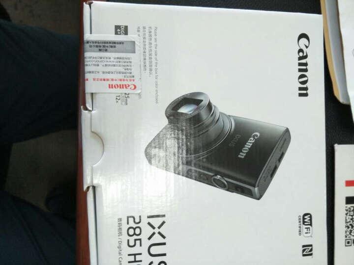 佳能(Canon)数码相机/家用旅游照相机/卡片机/伊克萨斯 IXUS185 黑色 套装一(标配+16G卡+相机包+读卡器) 晒单图