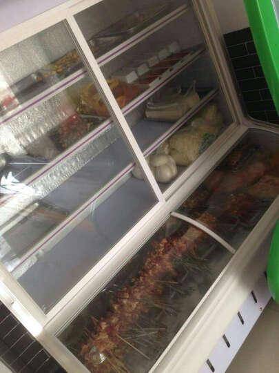 乐创(lecon)点菜柜冰柜冷藏展示柜麻辣烫蔬菜水果保鲜冰箱柜麻辣烫蔬菜立式饮料展示柜 1.5米双温上冷藏下冷冻 晒单图