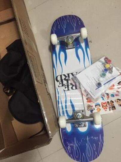 物有物语 四轮滑板 初学者儿童卡通双翘公路滑板男成人代步工具青少年枫木连体滑板车女 音乐达人 79cm*20cm*10cm 晒单图