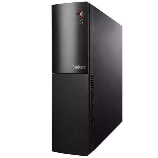 联想(ThinkCentre)E74S台式办公电脑主机(i3-6100T 4G 500G 集显 三年上门 Win10)10KT000UCD 晒单图