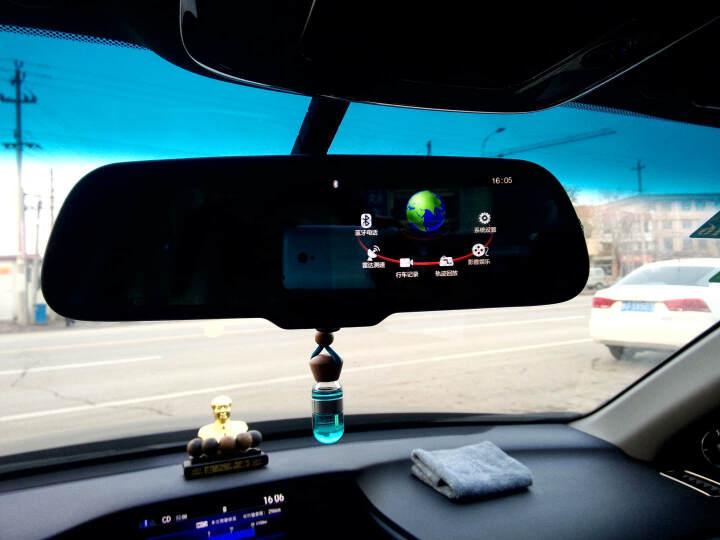 卡仕达 智能语音声控后视镜双镜头高清行车记录仪GPS导航仪安全预警仪雷达测速倒车影像一体机 标配+无线方控旋钮 奥迪Q3/Q5/A4L/A6L/A3/A5 晒单图