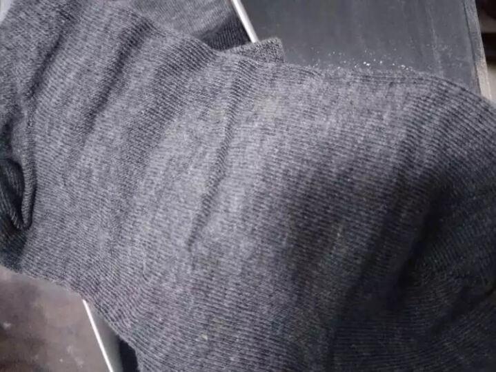 北极绒袜子【10双】男士船袜男女春夏季短袜男运动休闲隐形袜低帮浅口棉袜防脱男女短袜 纯色男款船袜-10双装 晒单图
