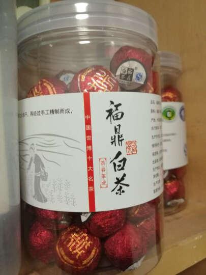 福鼎白茶正宗老白茶 【迷你小沱茶500克2罐 清香型】 茶者 晒单图