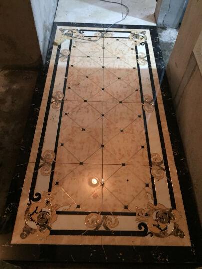赛牧抛晶砖 地砖拼花瓷砖玄关欧式客厅无限拼地板砖 3600*3600MM 其他 晒单图