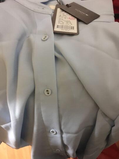 ELLASSAY歌力思2016秋季女装 纯色简约羊毛两件套毛衫 水粉蓝 170/92A 晒单图