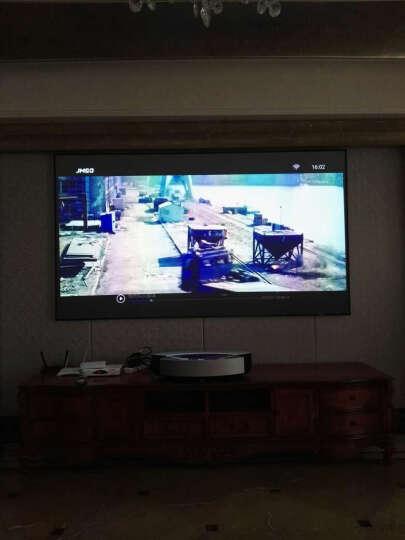 小明(XMING) 光峰M2激光微型投影仪 高清3D家用商务办公投影机 安卓WiFi智能影院无屏电视 小明M2+100英寸电动幕布 晒单图