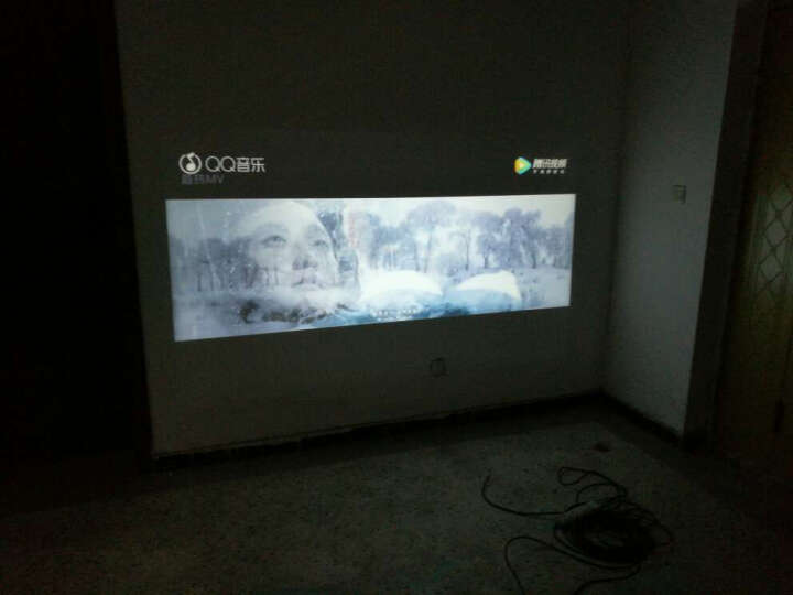 轰天炮投影仪LED-86+ 智能家庭影院  办公投影仪家用   高清投影机 白色86+智能wifi版套餐四 晒单图