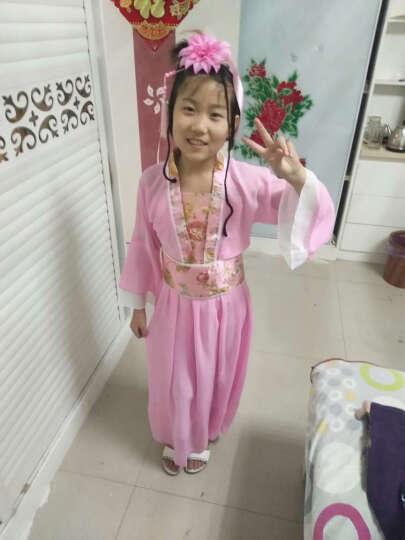 古七仙女 演出服公主裙汉服贵妃古筝舞台表演服装. 绿色的 160cm(155-160 晒单图