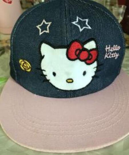 凯蒂猫(HELLO KITTY)儿童网眼棒球帽 KT4057 粉蓝 54cm 晒单图
