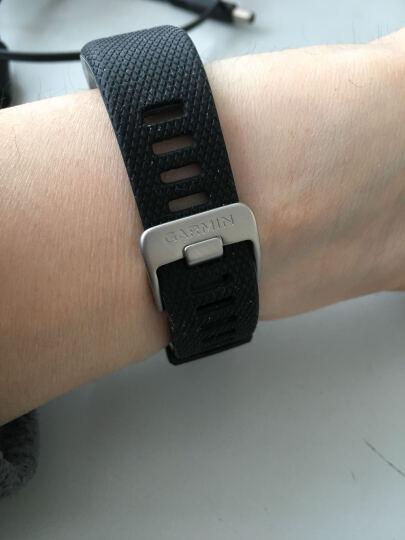 佳明(GARMIN)vivosmart HR+ 紫色GPS智能手环心率实时监测自动睡眠监测活动侦测来电提醒运动蓝牙手表 晒单图