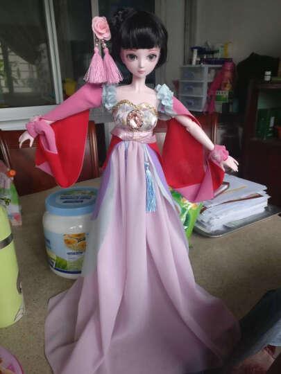 叶罗丽 娃娃精灵梦 夜萝莉仙子 DIY可换装 卡通公主娃娃50cm 女孩玩具 爱丽丝高约50cm(二套衣服+一双鞋子) 晒单图