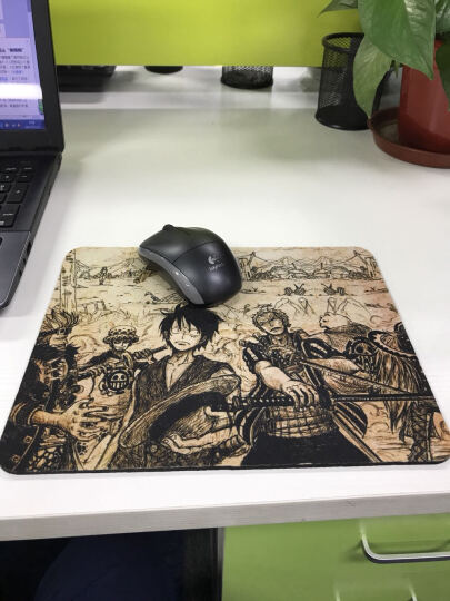 HNM 创意卡通鼠标垫可爱 电脑笔记本游戏鼠标垫加大加厚布鼠标垫 要么瘦要么死26x21x0.3(非锁边) 晒单图