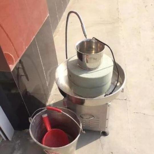 石磨磨浆机 电动30交流/直流/两用电动石磨多功能豆浆米浆芝麻糊机 电动交流调速石磨+赠品工具包+漏斗 晒单图