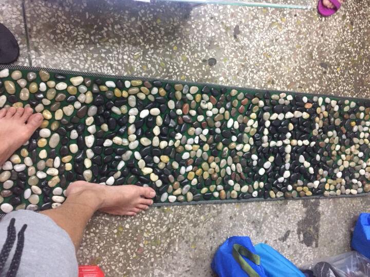 鹅卵石足底按摩垫石子路脚底按摩垫按摩走毯指压板雨花石 赠品单拍不发. 晒单图