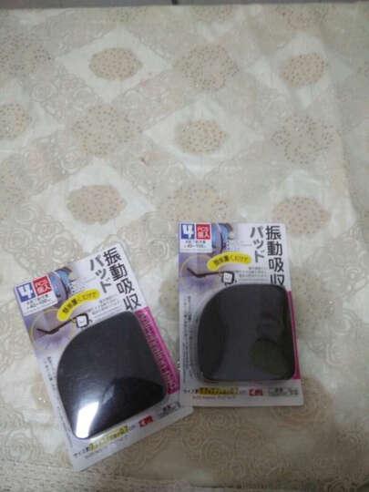 日本创意滚筒洗衣机海绵防震垫地面防滑隔音减震垫脚家具垫子垫高底座家居用品支架垫片消声垫 晒单图