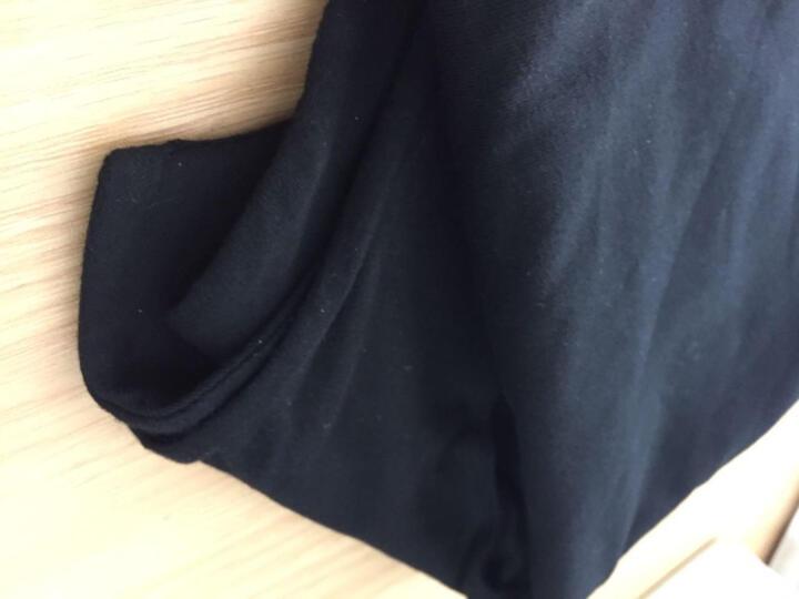 南极人 工字吊带背心女2018夏新款打底衫大码无袖上衣宽肩背心女夏薄款(有U型和漏背可选) 后背V字 白色大码 晒单图