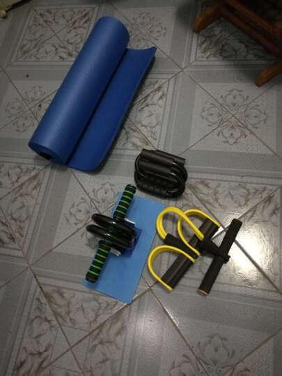 凯速(KANSOON) 健腹轮腹肌轮健腹轮套装俯卧撑架瑜伽垫健身垫腹肌滚轮健身器材腹肌健身器 四股脚蹬拉力器 晒单图