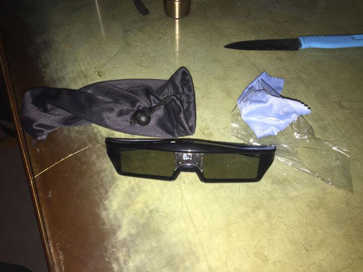 坚果(JmGo)投影仪3D眼镜主动快门式投影仪眼镜G7/J7/V9/C6家用投影机3D电影眼镜充电款 晒单图