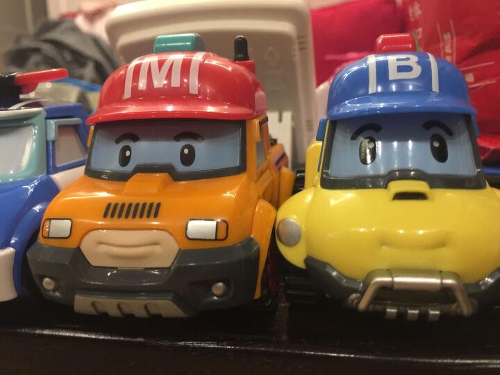 银辉Silverlit珀利警车POLI救护家族儿童玩具 遥控步行机器人83090 晒单图