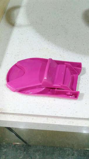 厨房可折叠锅盖架多功能组合锅盖座汤勺架汤勺锅盖塑料收纳架子 颜色随机 晒单图