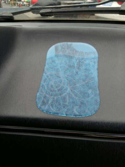 宜岚 车用防滑垫 PU防滑贴 车载手机用防滑垫 车贴 汽车用品 功能小件 浅蓝色 晒单图