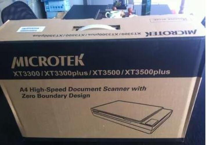 中晶(microtek)XT3500书刊书籍扫描仪A4幅面扫描1.5秒色彩OCR识别扫描仪 晒单图