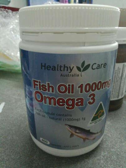 Healthy Care 【京东全球购】澳洲进口  保健品 HC 深海鱼油软胶囊1000mg 400粒调节三高 晒单图