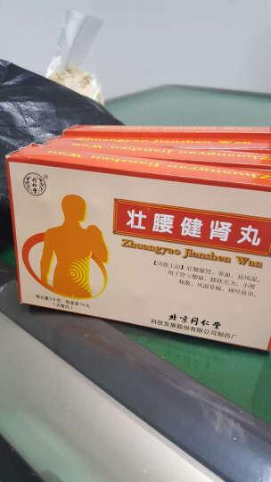 同仁堂 壮腰健肾丸5.6g*10丸 壮腰健肾养血祛风湿 5盒装 晒单图