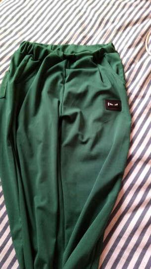 朵迪莎 2018卫衣秋装新款运动套装女高中学生外套长裤休闲两件套女 粉 色 XXL 晒单图