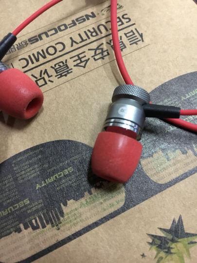 浦记PLEXTONE G10/20入耳式耳机小战锤便携式电竞游戏耳机手机电脑通用线控带麦 电脑手机两用-红色 晒单图