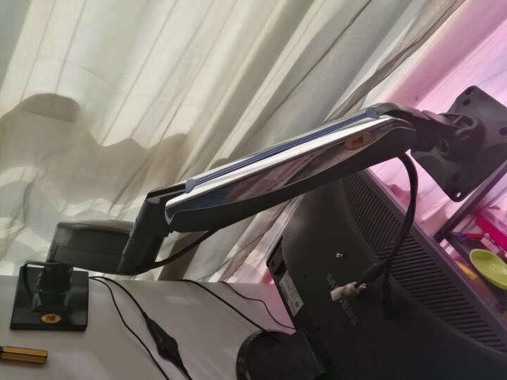 NB F85A(22-32英寸)大屏显示器支架多功能桌面显示器机械弹簧支架旋转升降大承重 晒单图