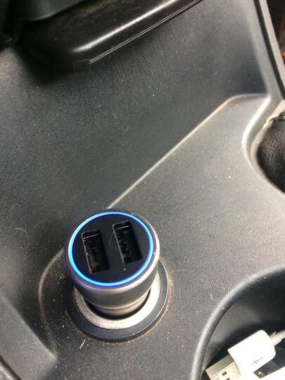 公牛(BULL)GN-U118C金属车载充电器5V/3.6A双USB手机平板通用车充多功能汽车一拖二 晒单图