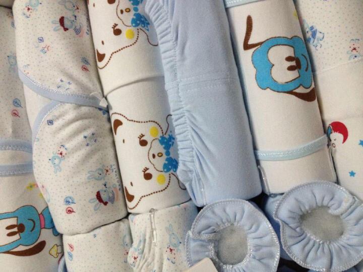 班杰威尔 婴儿礼盒婴儿衣服秋冬春夏套装纯棉新生儿宝宝内衣满月百天礼包 顽皮熊 秋冬加厚款-黄色 晒单图