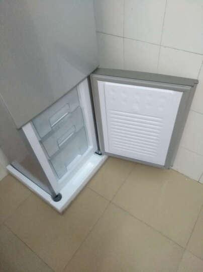 创维(Skyworth)160升双门冰箱 金属无痕面板 快速冷冻 节能实用型冰箱(炫银)BCD-160 晒单图