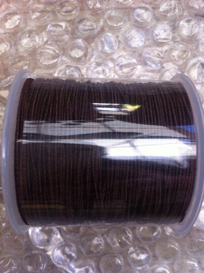 绿侬  包芯弹力线0.6 0.8 1.0mm佛珠线手串绳DIY手链饰品松紧线 玫红色直径1.0mm/长60米 晒单图