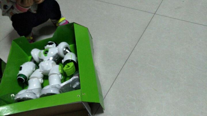 盈佳新威尔 阿尔法机器人智能玩具机械战警电动遥控机器狗宠物狗 益智早教对话玩具男孩女孩小孩礼物 大号白色升级版机械战警可智能对话 晒单图