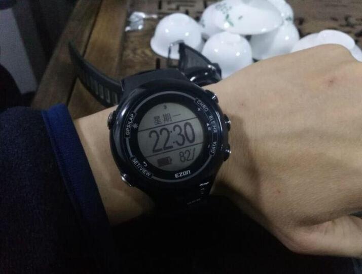 宜准(EZON)E1hr智能运动手表男GPS飞利浦动态光心率表马拉松跑步户外防水电子表国产 E1蓝+心率带 晒单图