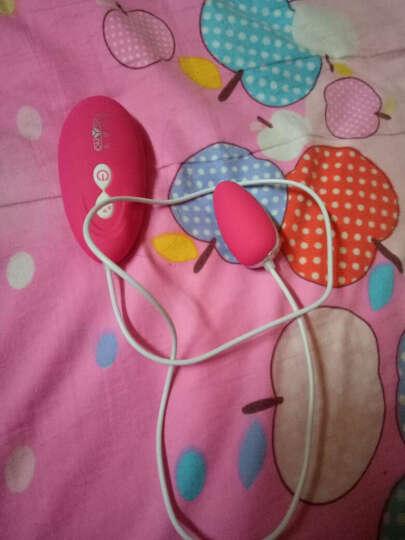 私享玩趣(OMYSKY)蓓蕾柔情 跳蛋女用充电静音强震情趣用品自慰器具 玫红色 晒单图