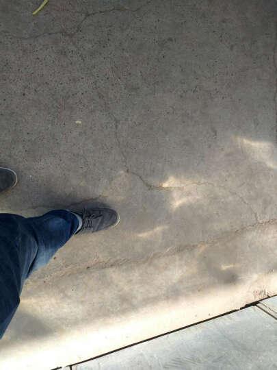 英卡威琪 秋季休闲鞋男士板鞋牛皮休闲皮鞋透气帆布鞋男鞋子男 葡萄紫(1622) 40 晒单图