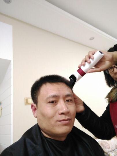 永日(yongri) 理发器电推剪成人儿童婴儿电推子剃头理发剪刀充电式静音家用电动剃发器 深红色标配+双剪+备用刀头 晒单图