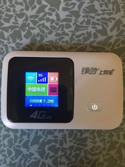 锋羽L529C 4G无线路由器三网通3G车载随身wifi 电信移动联通上网卡托附流量 路由器+电信24G流量卡套餐 加强版彩屏+电信24G流量 晒单图