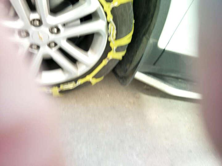 佳卡诺   汽车防滑链 轿车SUV雪地橡胶防滑链 汽车配件 黄色款 型号M-4(2条) 晒单图