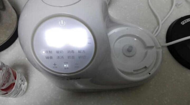喔喔牛(oh snail) 婴儿童宝宝辅食机料理机电动智能调理蒸制搅拌一体机食物研磨器 绿色旋钮版 晒单图