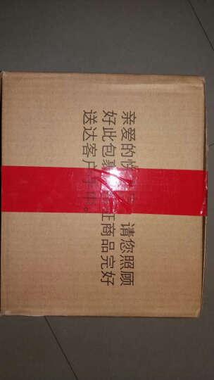HAIXIN 冰箱收纳保鲜盒 塑料长方形微波食品储物盒 绿色 1层+1盖 晒单图