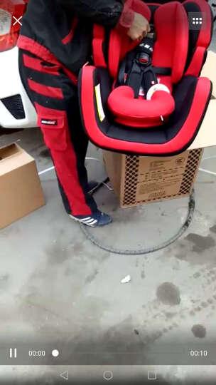 gb好孩子汽车儿童安全座椅 双向安装 CS888-W-L102 红黑色 0-25KG(0-7岁 ) 晒单图