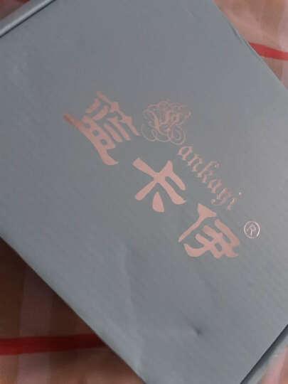 蓝卡伊 心形手链 女士S925银手链女款日韩版时尚心形手饰品镶嵌送女友闺蜜生日礼物 S990银三生三世桃花手链 晒单图
