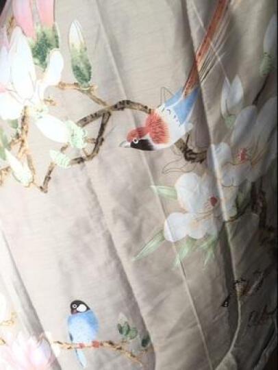 漫诺夏被子纯棉空调被儿童可水机洗夏天全棉学生卡通薄被子 花季恋歌(粉) 150*200cm 晒单图