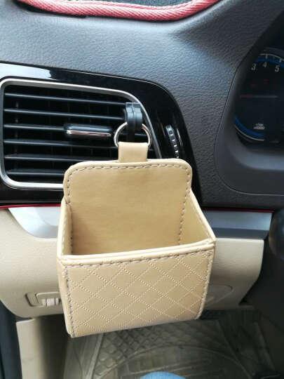 捷魅业 汽车出风口置物袋 车载手机盒 出风口储物袋 汽车手机支架 收纳盒桶筒 G4改装专用 典雅米 比亚迪F0 F3R F6 G3 G5 G6 S6 晒单图