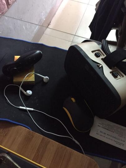 vr眼镜 3d虚拟现实眼镜 智能家庭影院手机游戏头盔 磨砂 DIY企业定制 摇杆遥控器 晒单图