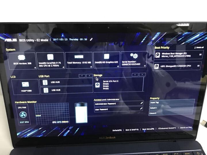 华硕(ASUS) 灵耀X ZenbookX13.3英寸轻薄笔记本电脑商务本八代i7四核全高清 【深宝石蓝i7】 8G内存 512G固态硬盘 晒单图
